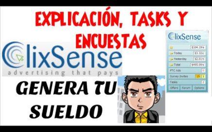 Clixsense 2017 | Como Ganar Dinero Por Internet Sin Invertir | Clixsense | Ganar Dinero Para Paypal