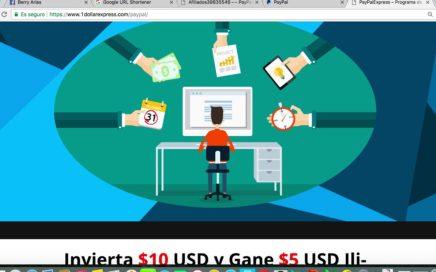 Como Ganar $5 USD para PayPal todos los Días - PayPalExpress