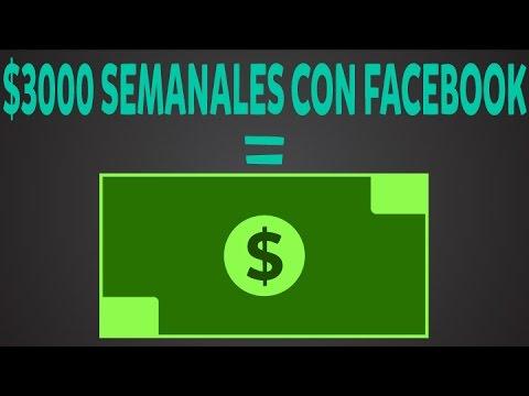 Como ganar dinero con facebook | Aprende como hacer $3,000 semanales con publicidad en facebook