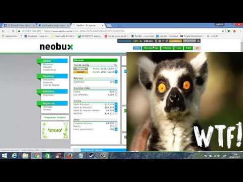 como ganar dinero con neobux - 2017     ( Mi Experiencia con neobux  )