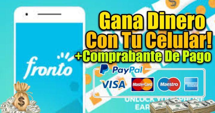 COMO GANAR DINERO CON TU CELULAR ANDROID & iOS | GANA DINERO POR INTERNET | Fronto Lock Screen