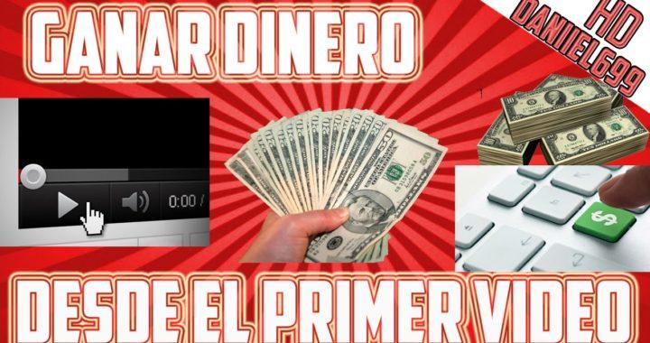 Como ganar dinero con tu primer video en YouTube   Monetizar tus videos