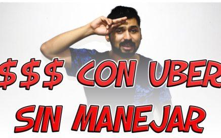 Como ganar dinero con Uber sin Manejar - Uber México - Código Personalizado - Viaje Gratis Uber
