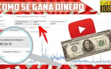 Como Ganar Dinero con Videos en YouTube // CUANTO SE GANA? // Tutorial Final