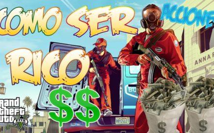 |Como ganar dinero en gta 5| Como ganar dinero con la bolsa de gta V |