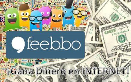 Como ganar dinero en INTERNET | $20 pesos por encuesta | Feebbo México | 2017
