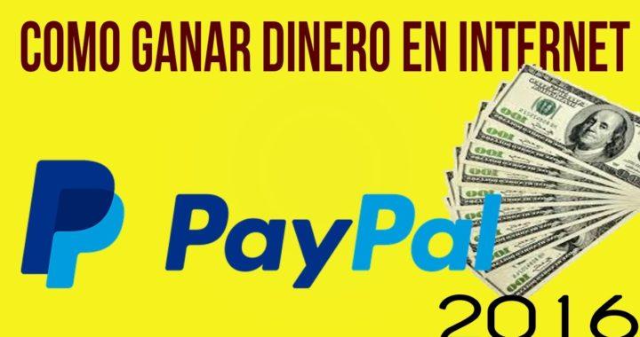 COMO GANAR DINERO EN INTERNET PARA PAYPAL 2017 | 20 USD A LA SEMANA