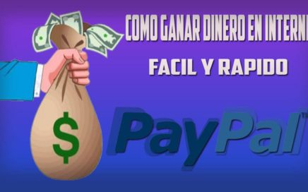 Como ganar dinero en Internet rapido y Legal |Para tu PayPal!|