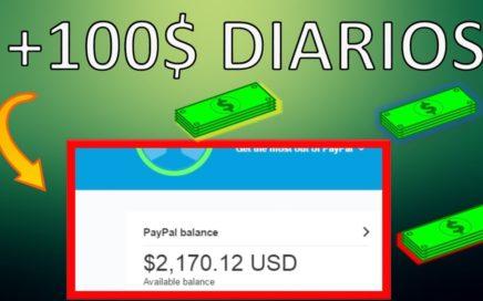 COMO GANAR DINERO EN INTERNET SIN INVERSIÓN +100 DIARIOS   PAYPAL 2017