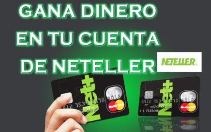 Como ganar dinero en Neteller 2017 (gratis por internet)