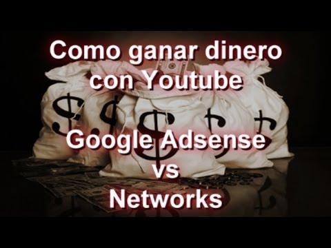 Como ganar dinero en Youtube subiendo videos - Google Adsense vs Networks #SEOArticulo