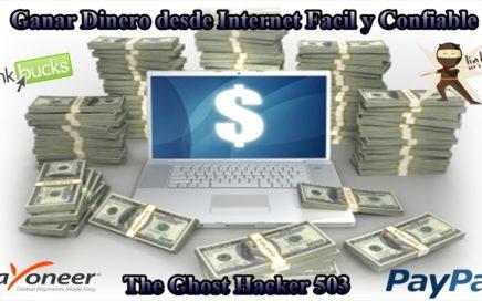 Como Ganar Dinero Por Internet 2017 100% Efectivo y Seguro