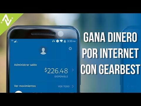 Como Ganar Dinero Por Internet 2017 | Con GEARBEST | desde Android, iOS y PC | Gratis y sin invertir