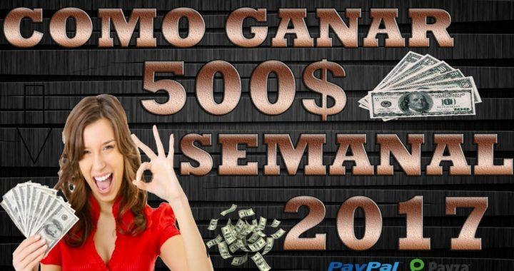 COMO GANAR DINERO POR INTERNET GRATIS 2017 (200$ DIARIOS) [Sin invertir]