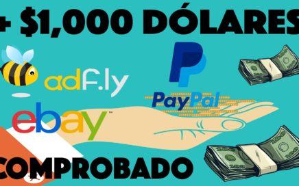 Como Ganar Dinero Por Internet Rápido y Seguro | Más de $1000 Dólares en PayPal