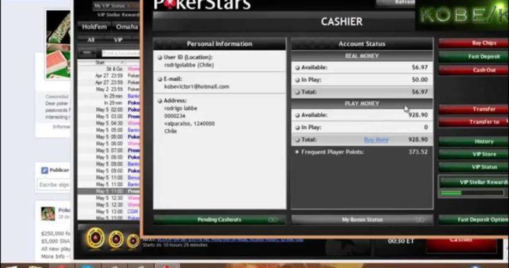 Como ganar dinero sin depositar en PokerStars