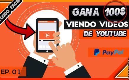 Como ganar Dinero viendo vídeos - Como generar Dinero viendo Vídeos - Genera tu ingreso sin invertir