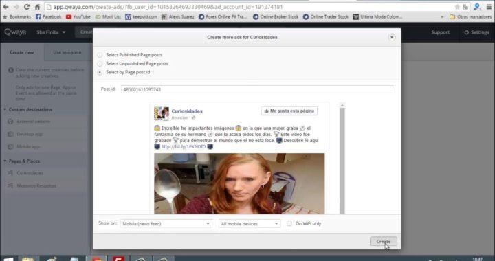 Como hacer publicidad profesional en facebook ads y ganar dinero con adsense