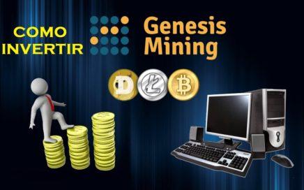 COMO INVERTIR EN GENESIS MINING - GANAR DINERO CON BITCOIN - MINAR BITCOIN EN AUTOMATICO