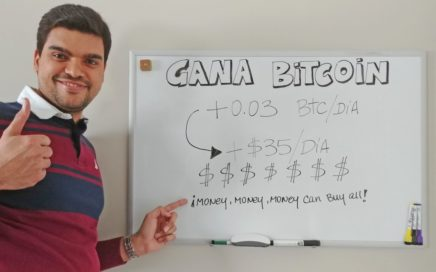 Gana Dinero Con bitcoin 2017 - +0.03BTC/DIA (+35$/dia) | Invertir En BITCOINS 2017 VER VIDEO