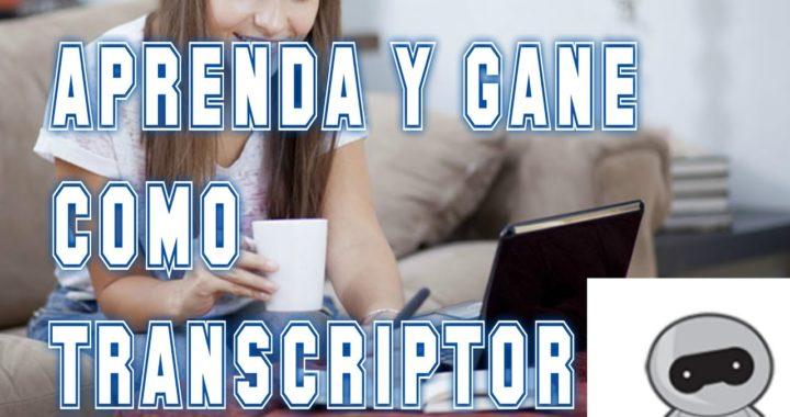 Gana Dinero Transcribiendo Textos || Empleate Pasando Audio a Texto