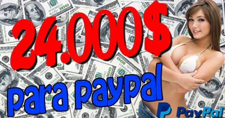 GANAR 24000$ PARA PAYPAL  DINERO GRATIS PARA PAYPAL   Conseguir dinero gratis para paypal 2016
