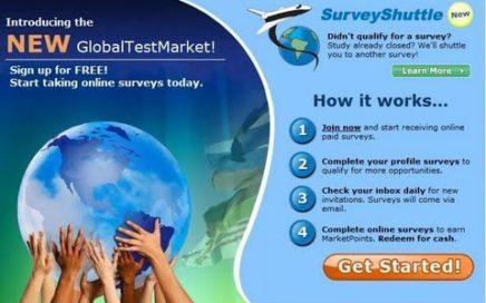 GANAR DINERO CON ENCUESTAS - GLOBAL TEST MARKET, LA MEJOR EN SU GENERO