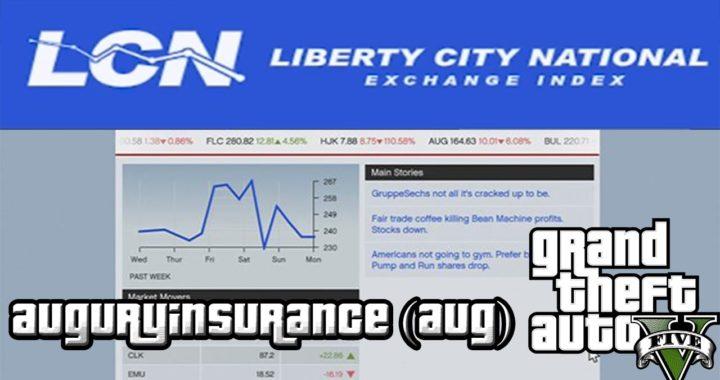 Ganar dinero con la empresa AuguryInsurance (AUG)   Bolsa LCN   GTA V