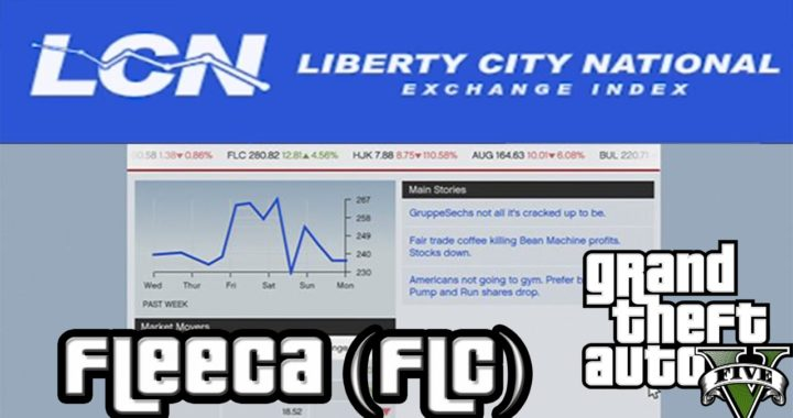 Ganar dinero con la empresa Fleeca (FLC) | Bolsa LCN | GTA V