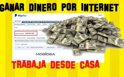 GANAR DINERO CON  MOBIDEA | Guía paso a paso 2016 | Como Ganar dinero con Internet | MOBIDEA