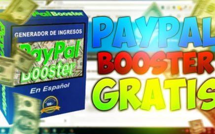 Ganar dinero con Paypal Booster (Descarga Gratuita)