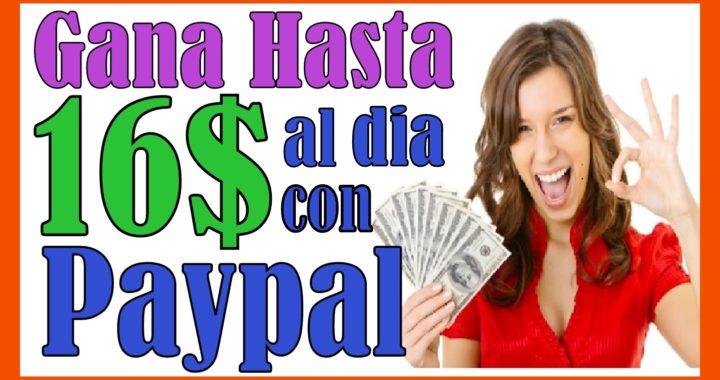 Ganar Dinero Con Paypal Rapido Dinero Extra En Linea Ingresos Por Internet Gratis