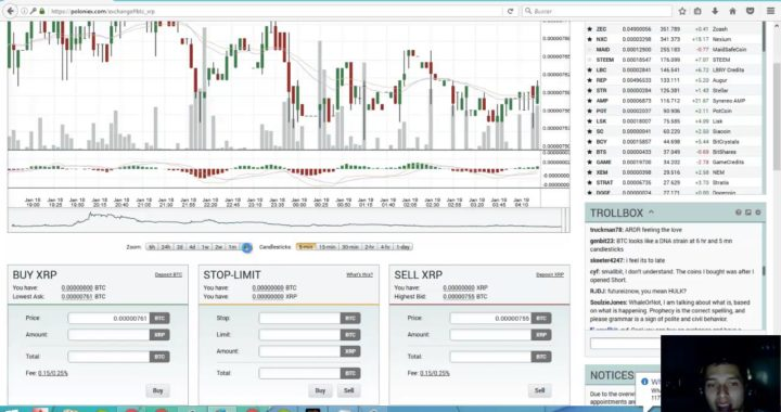 Ganar dinero con Poloniex    cripto trader