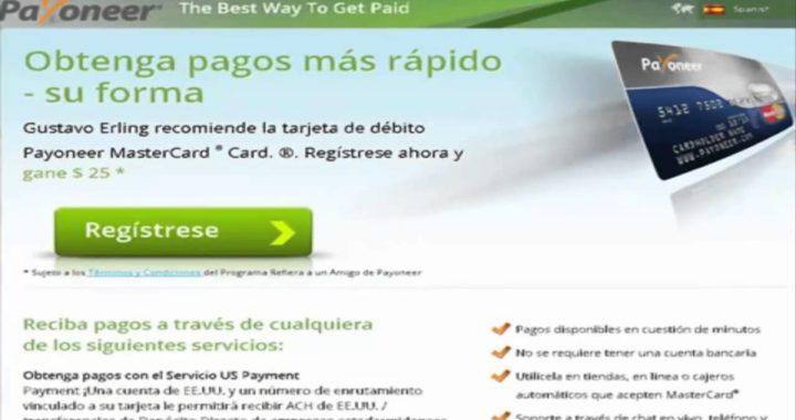 Ganar dinero en Internet como afiliado Payoneer  2017
