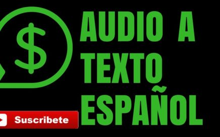 Ganar Dinero Por Escribir Audio a Texto   En Español