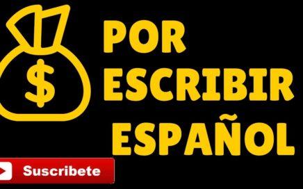 Ganar Dinero Por Escribir | En Español Rapido