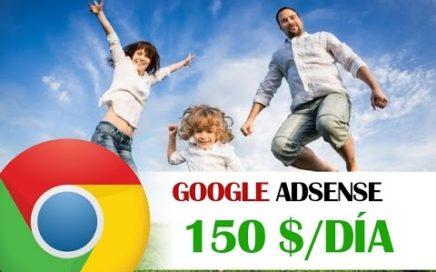 GOOGLE ADSENSE - Como Ganar Dinero Con Google Adsense 2017   150$/día