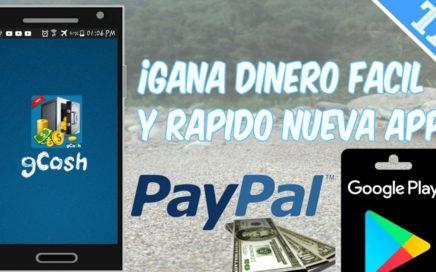 INCREIBLE APP PARA GANAR DINERO EN ANDROID PARA PAYPAL,AMAZON,GOOGLE PLAY/TutosCarlos/