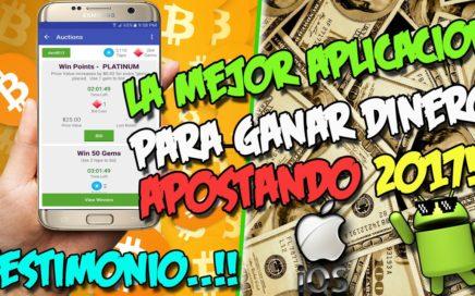 LA MEJOR APLICACIÓN PARA GANAR DINERO CON TU ANDROID Y IPHONE 2017 | Gana dinero APOSTANDO