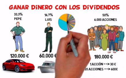 Que son los Dividendos Parte 1 - Ganar Dinero en Bolsa con Dividendos