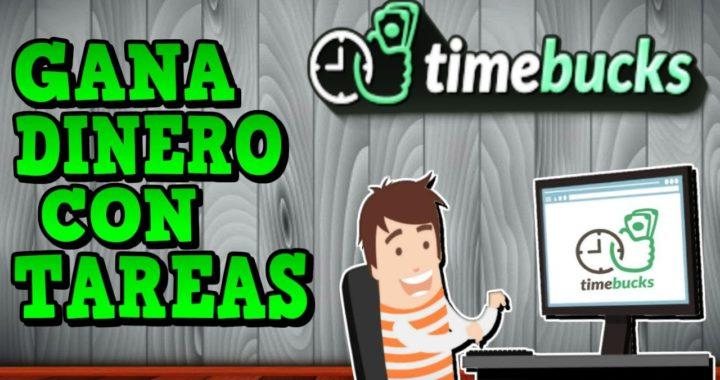 TimeBucks, Gana Dinero con Tareas Sencillas | Como Ganar Dinero Fácil por Internet Sin Trabajar 2017