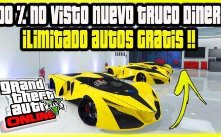 """100 %EXCLUSIVO!! *NUEVO* DINERO INFINITO """"MAS FÁCIL QUE NUNCA"""" GRATIS EN GTA V ONLINE  SI HACKS"""