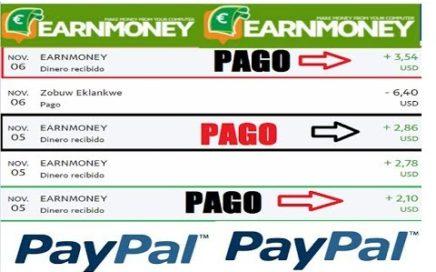 Earn Money Network /  PRUEBA DE PAGO A PAYPAL -  Gana Dinero por Tener el PC encendido