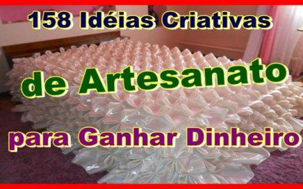 158 Idéias Criativas de Artesanato para Ganhar Dinheiro