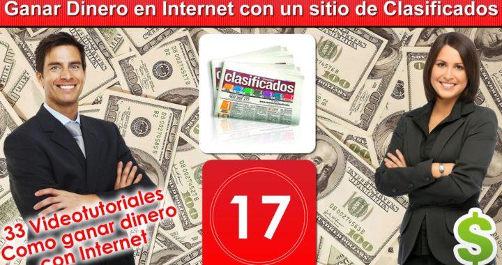 17  Ganar Dinero en Internet con un sitio de Clasificados online