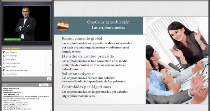 2- Criptomoneda Onecoin, como ganar dinero fácil con franquicias baratas Onecoin en empresas MLM