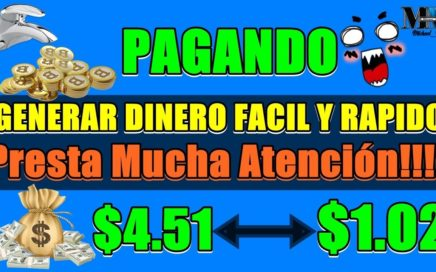 2 PAGINAS PARA GENERAR DINERO FÁCIL Y RÁPIDO PRESTA MUCHA ATENCIÓN ( + PRUEBAS DE PAGOS )