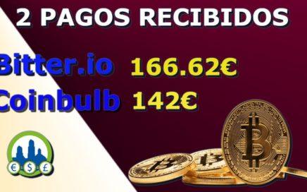 (((2 Pagos recibidos de 308€))) |Bitter.io,Coinbulb |gana Bitcoin gratis!!!