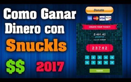 |2017| Como Ganar Dinero con Snuckls para Paypal [Nueva Estrategia]