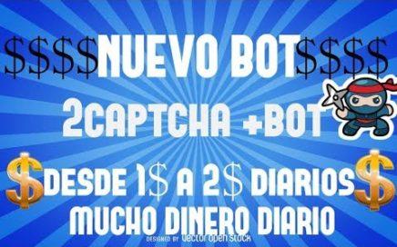2Captcha+bot | desde 1$ a 2$ diarios comprobado|GANAR DINERO ONLINE VENEZUELA